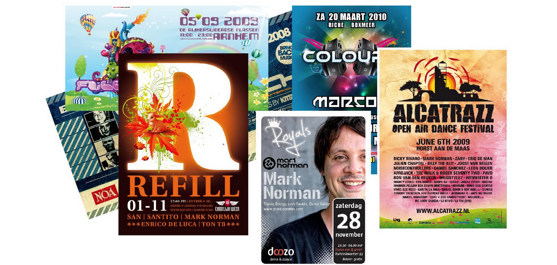 Posters en flyers